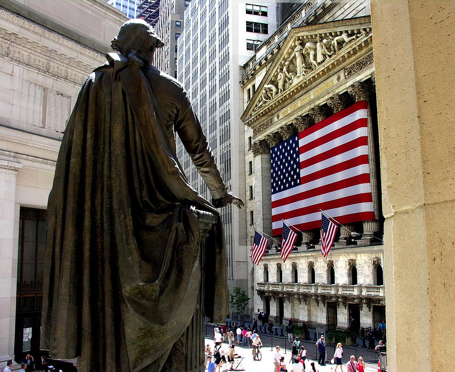 Wall Street - American Pride by Jacqueline M Lewis