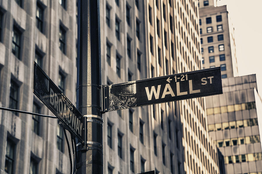 Image result for wall street sign