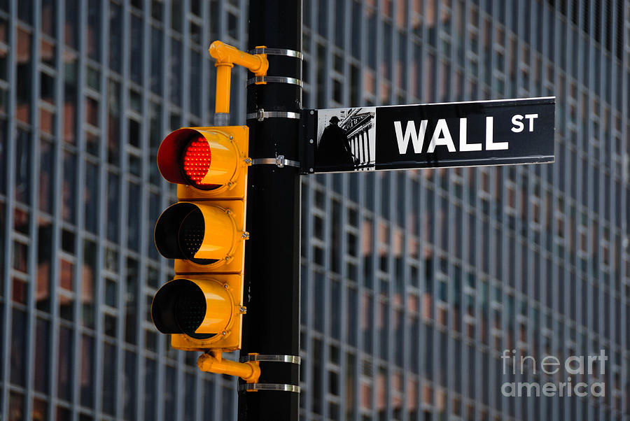 Wall Street Traffic Light New York Photograph By Amy Cicconi