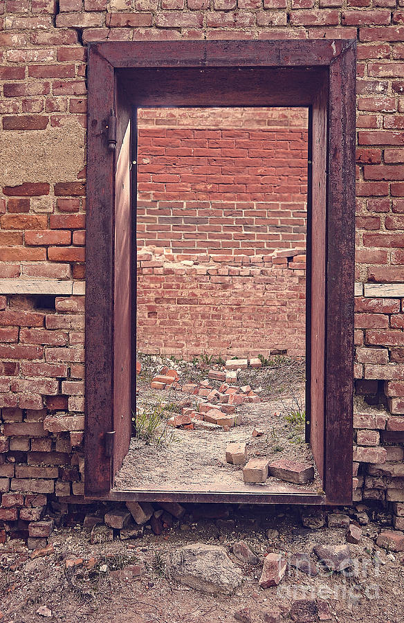 Ghost Photograph - Walled In by Edward Fielding