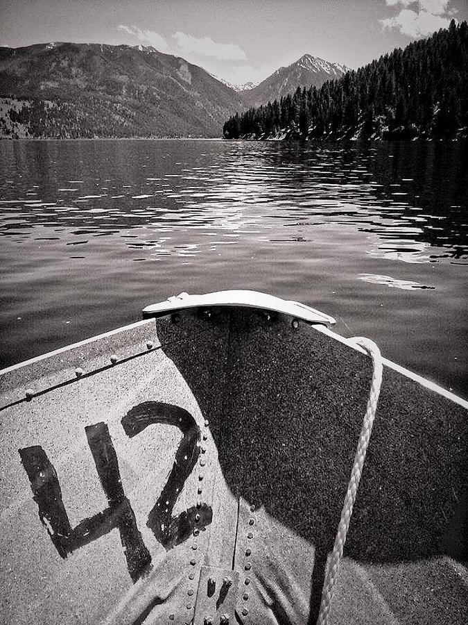 Wallowa Lake Photograph - Wallowa Lake by Whitney Nanamkin