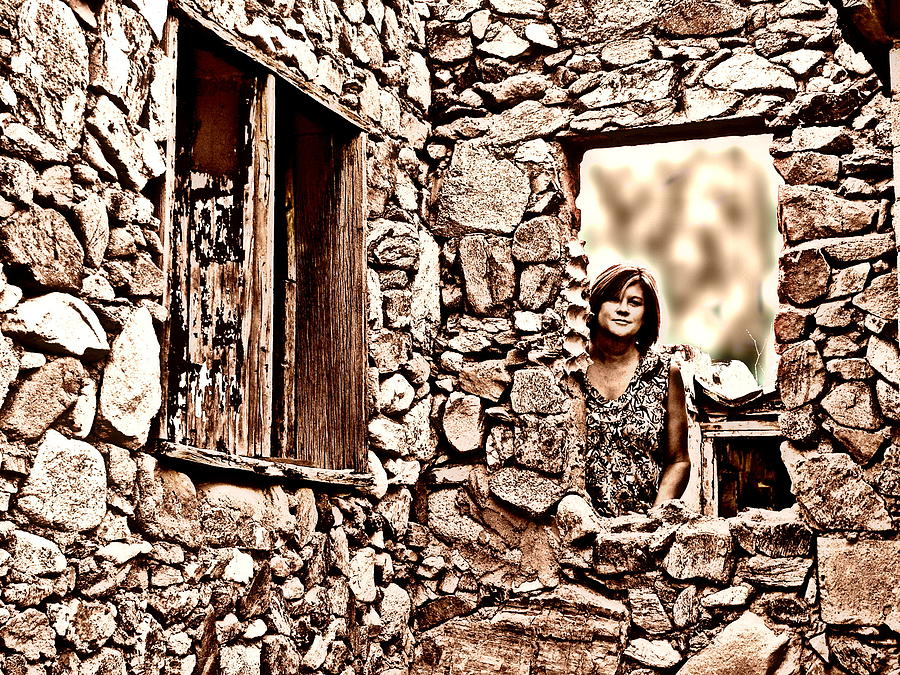 Old Photograph - Walls Of The Heart by Kimo Fernandez