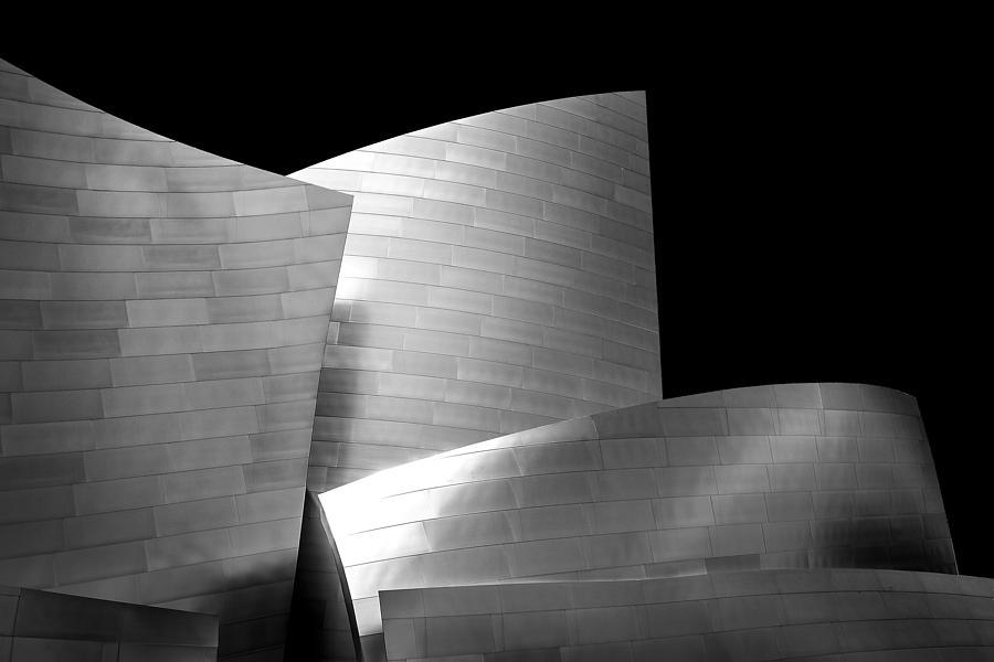 Los Angeles Photograph - Walt Disney Concert Hall 1 by Az Jackson