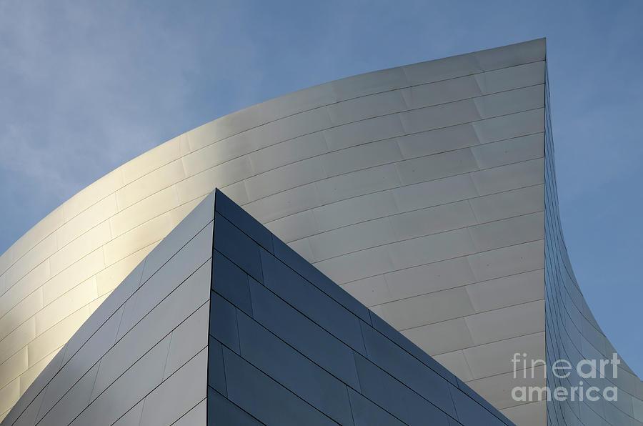 Disney Photograph - Walt Disney Concert Hall 3 by Bob Christopher