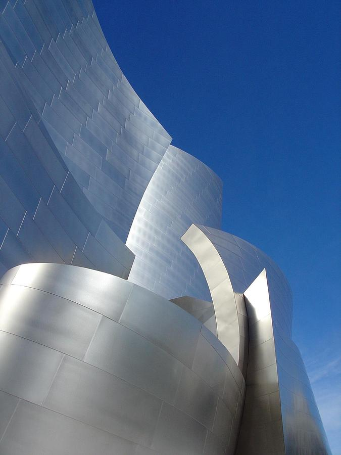 Architecture Photograph - Walt Disney Concert Hall by Natalya Karavay