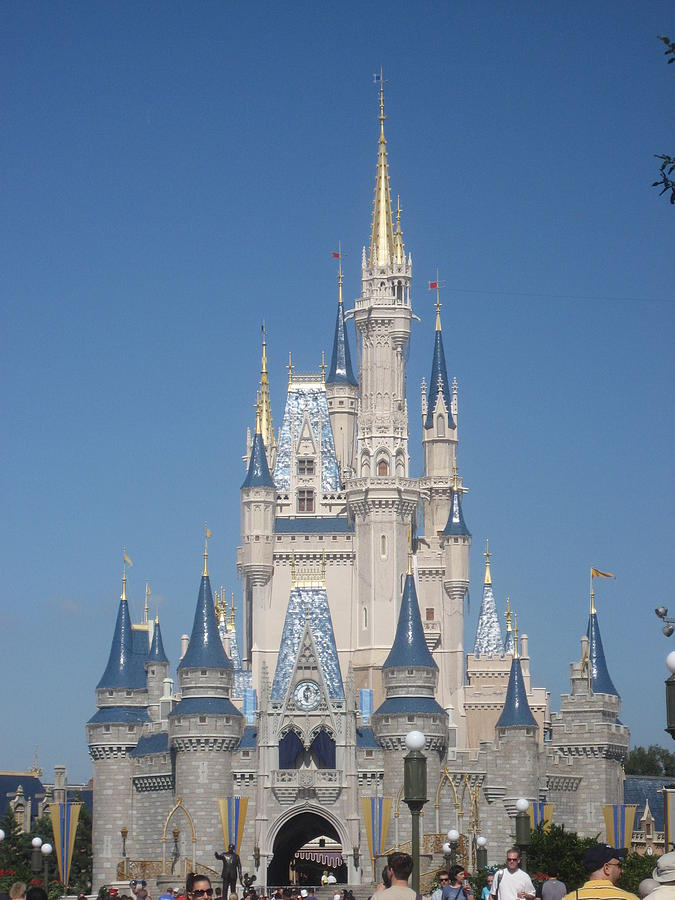 Walt Photograph - Walt Disney World Resort - Magic Kingdom - 1212129 by DC Photographer