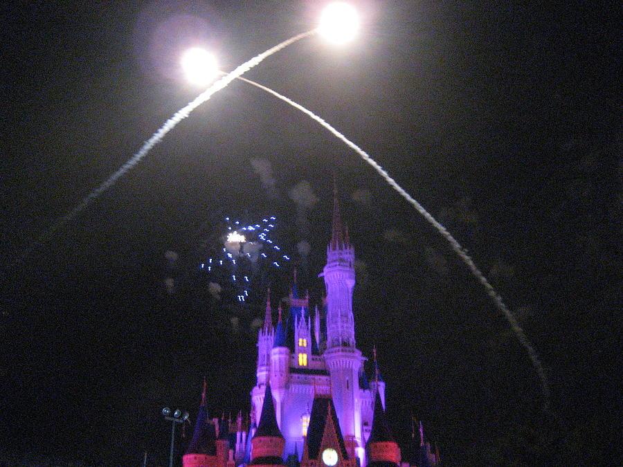 Walt Photograph - Walt Disney World Resort - Magic Kingdom - 121223 by DC Photographer