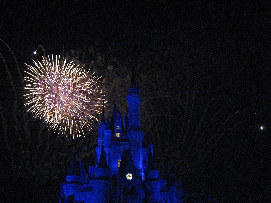 Walt Photograph - Walt Disney World Resort - Magic Kingdom - 121232 by DC Photographer