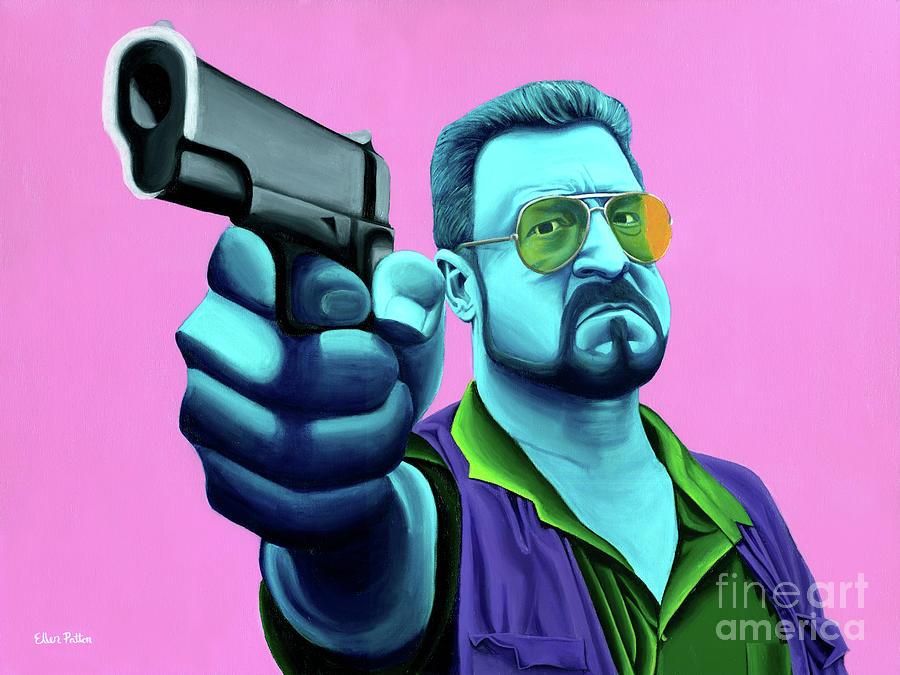 Walter Painting - Walter  by Ellen Patton