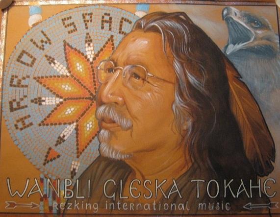 Native American Painting - Wanbli Gleska Tokahe by Natalia Aglitskaya