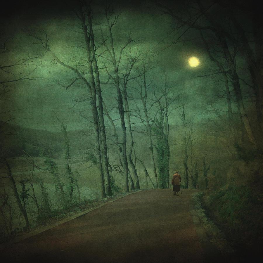 Night Photograph - Wanderer by Taylan Apukovska