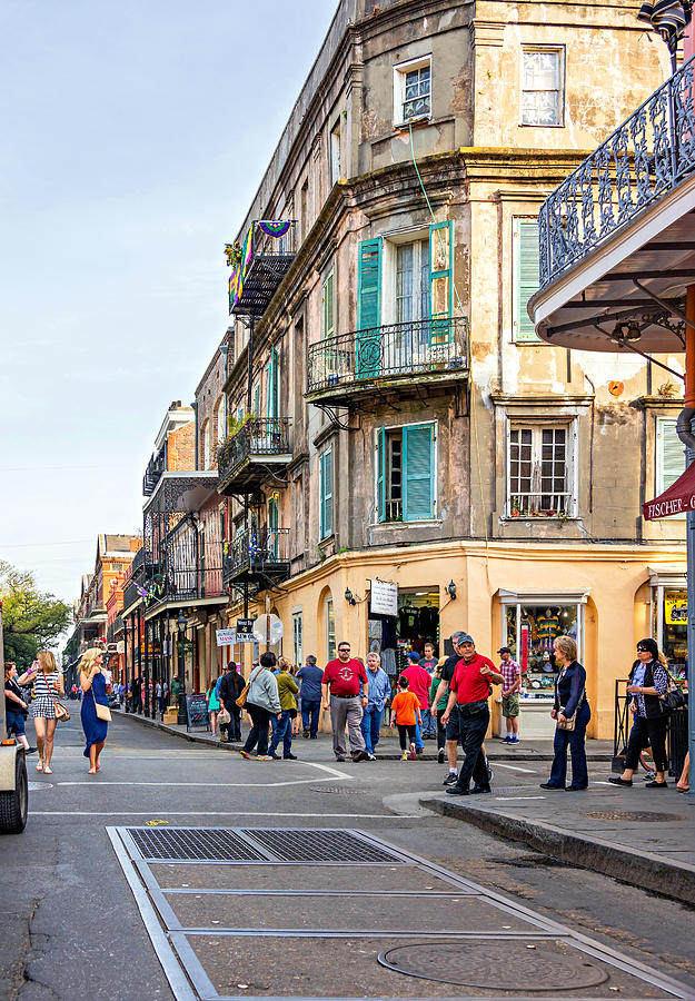 Wandering In The French Quarter Photograph