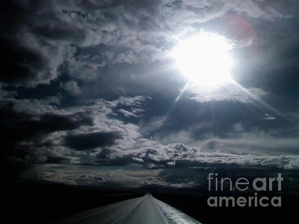 Highway Photograph - Wanderlust by Edward Fuller