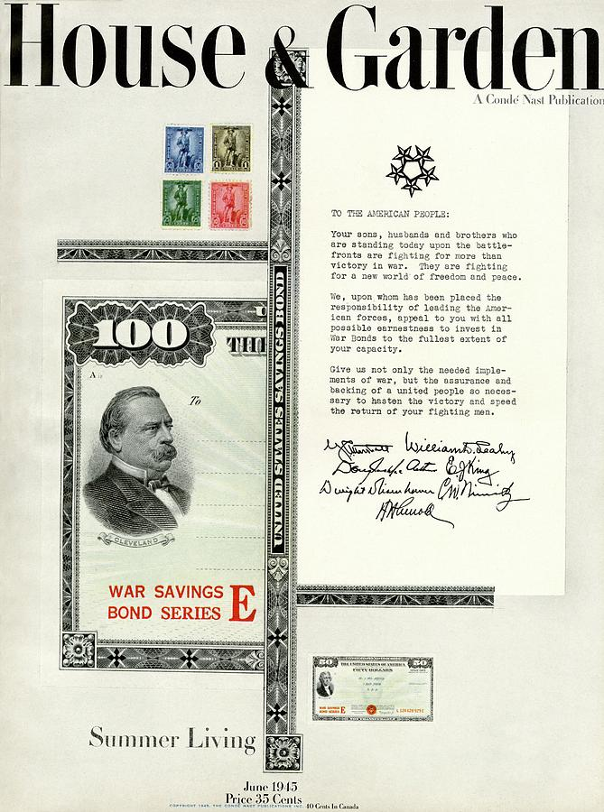 War Bonds, Stamps And A Letter Photograph by Priscilla Peck