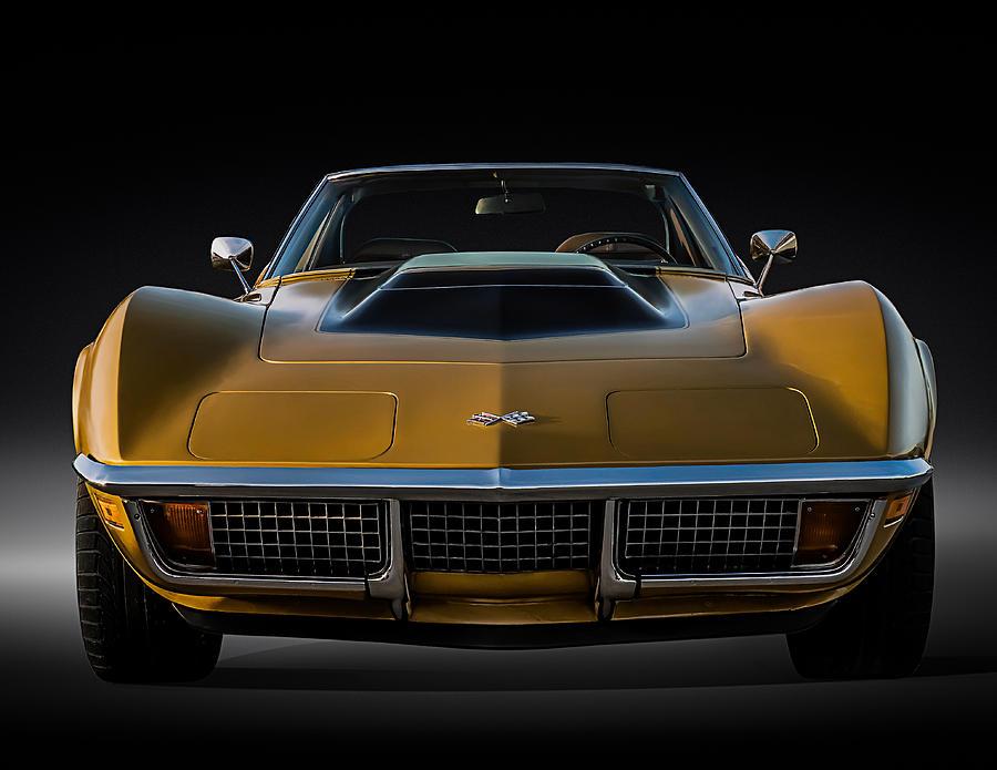 Corvette Digital Art - War Bonnet by Douglas Pittman