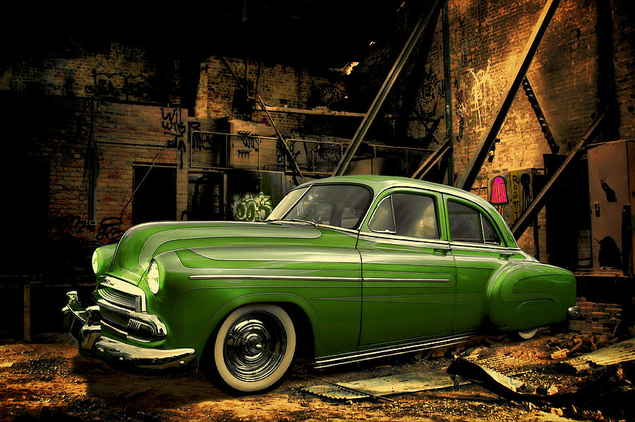 Car Photograph - Warehouse Gem by Steven Agius