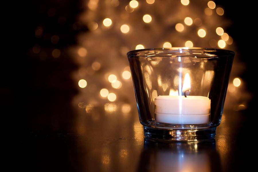 Christmas Photograph - Warm Christmas Glow by Lisa Knechtel