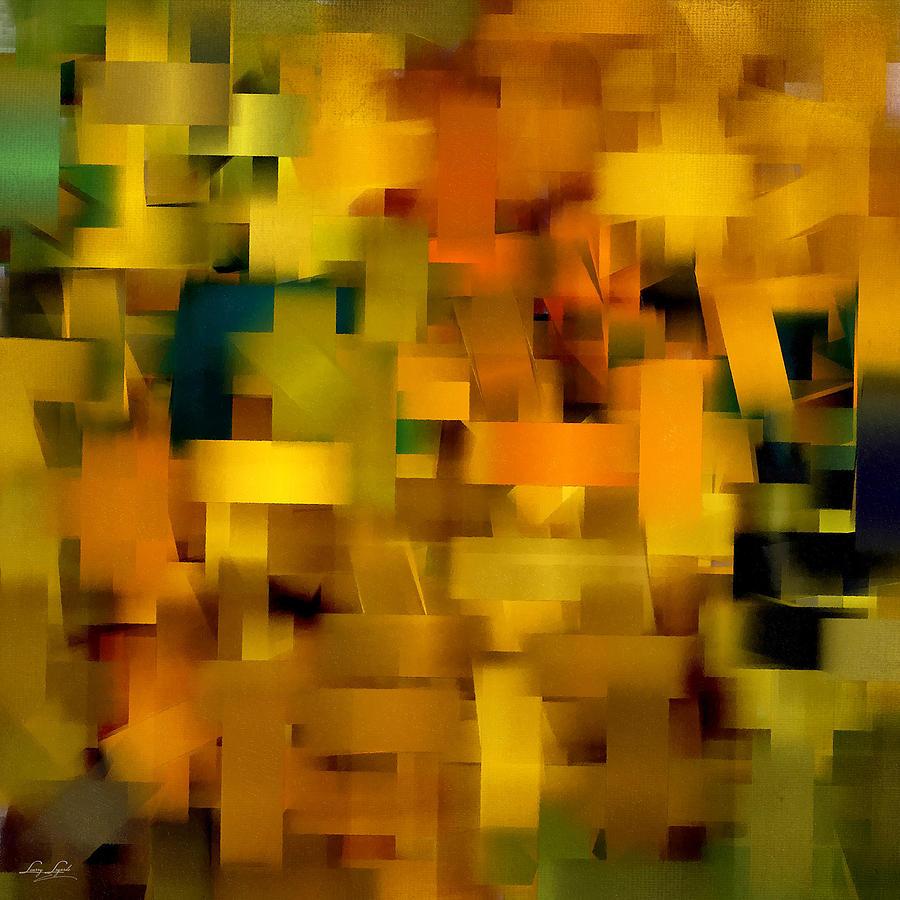 Squares Digital Art - Warmth Essence by Lourry Legarde