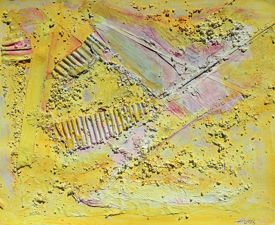 Abstract Painting Painting - Warmth Of Angels by Hari Thomas