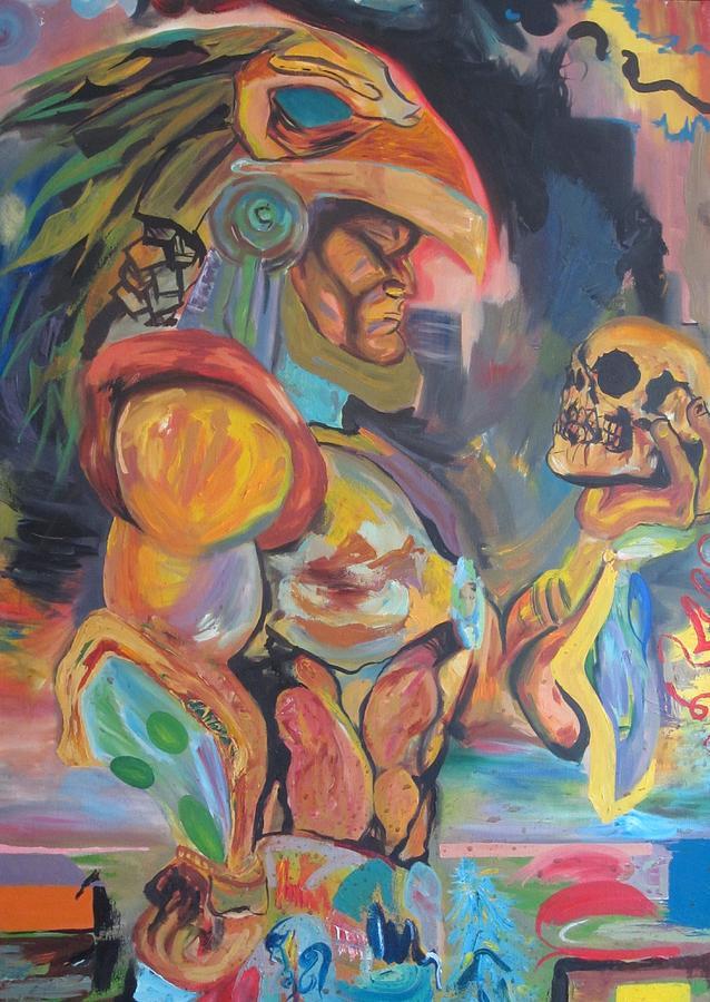 Warrior Painting - Warrior  by Erik Franco