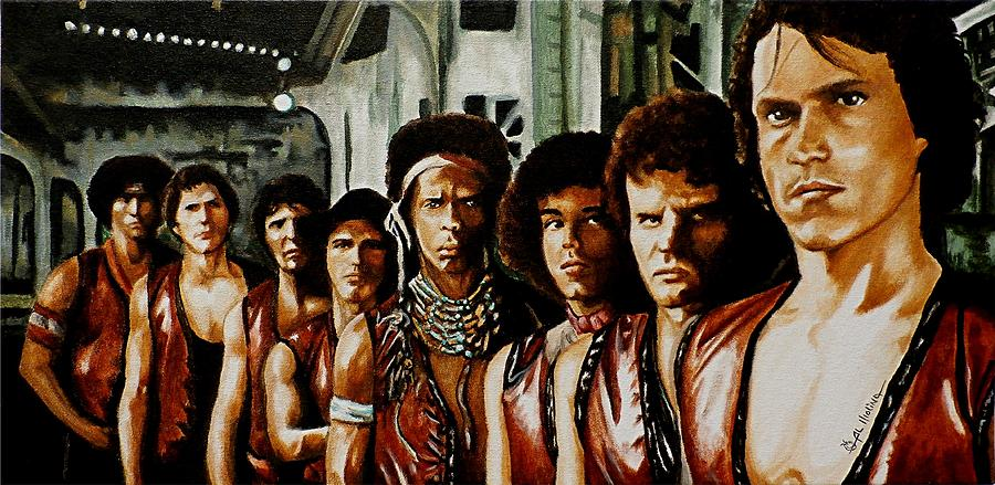 Warriors Painting - Warriors Come Out To Play by Al  Molina