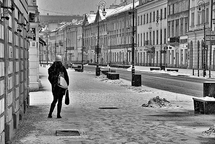Black And White Photography Photograph - Warsaw 1 by Steven Richman