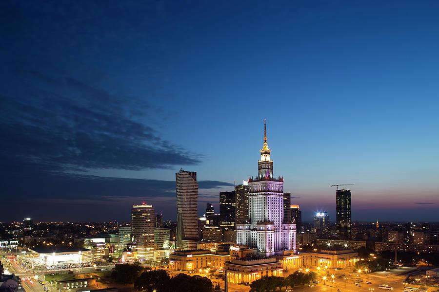 Warsaw Downtown Skyline In 2013 Photograph by Pawel Toczynski