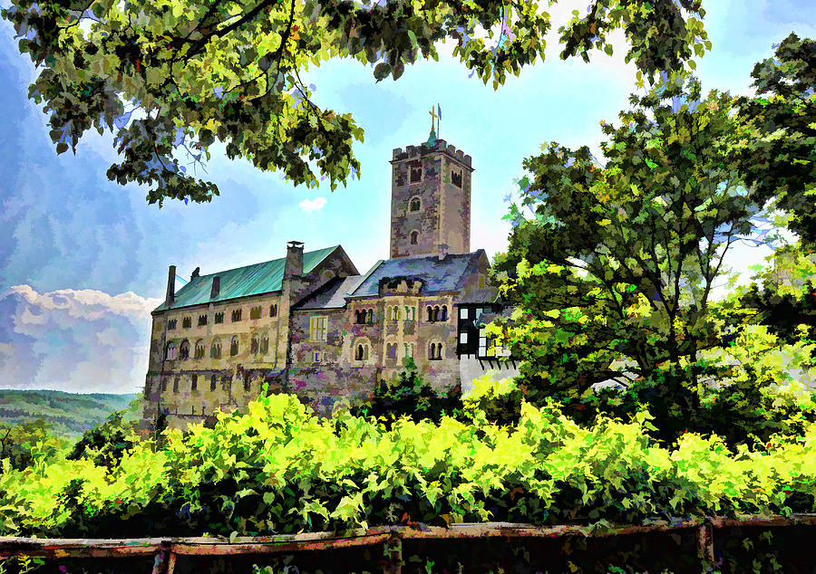 Wartburg Castle - Eisenach Germany - 1 by Mark Madere