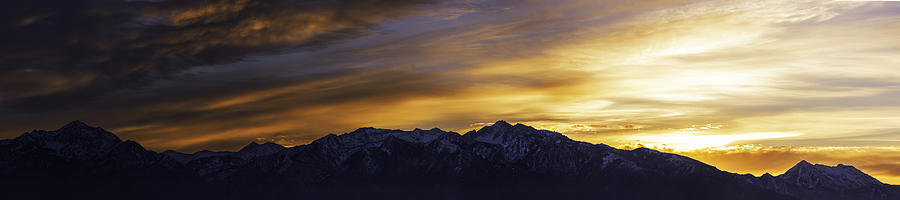 Wasatch Photograph - Wasatch Dawn by Chad Dutson