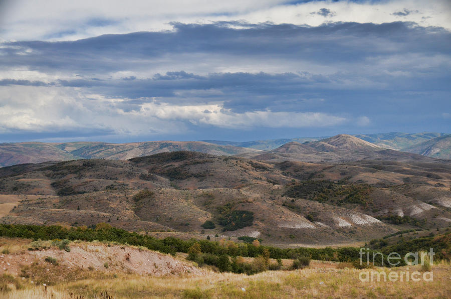 Wasatch Mountains Utah II by Donna Greene