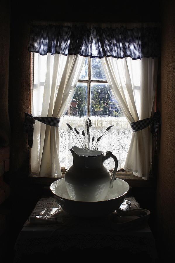 Wash Photograph - Wash Basin And Jug by Ian  Ramsay