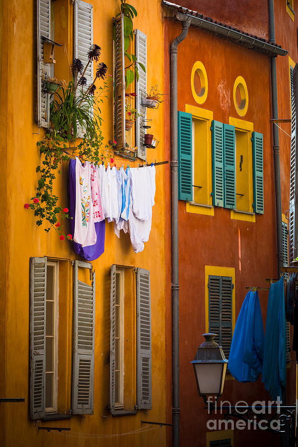 Cote D'azur Photograph - Wash Day by Inge Johnsson