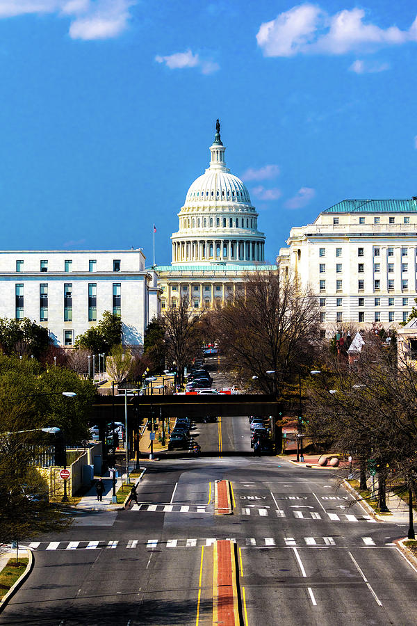 Vertical Photograph - Washington D.c. - Elevated View by Panoramic Images
