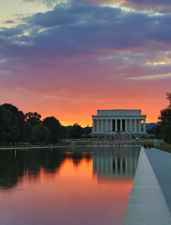 Washington Photograph - Washington Dc Night by Jack Nevitt