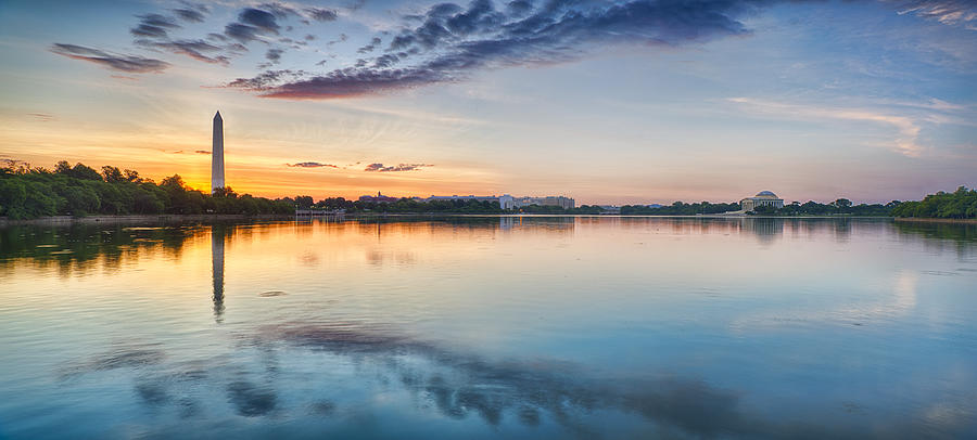 Washington DC Panorama by Sebastian Musial