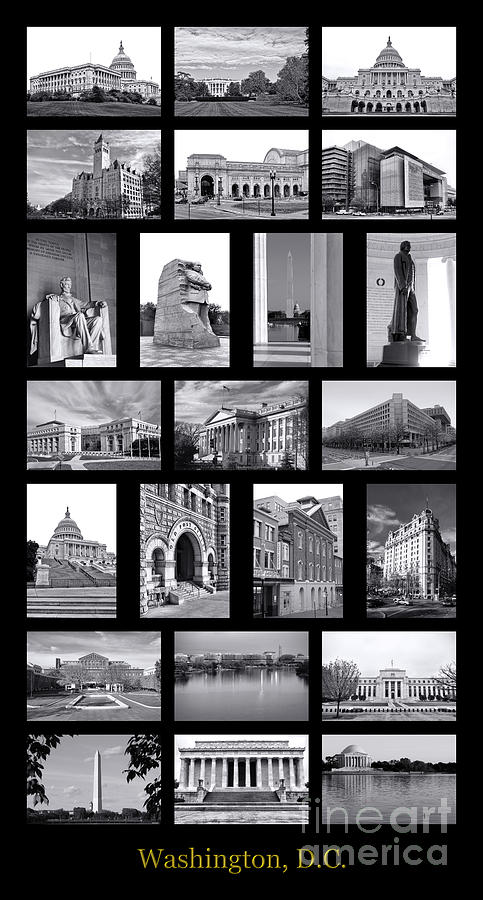 Washington Photograph - Washington Dc Poster by Olivier Le Queinec