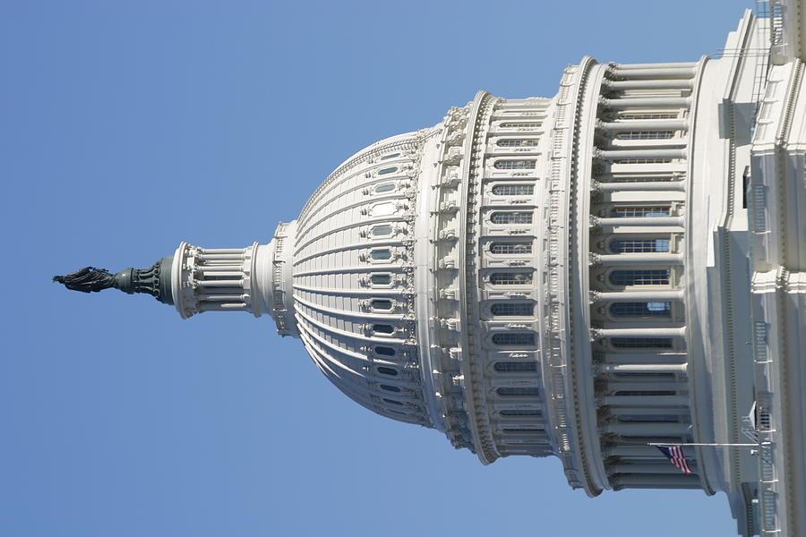 America Photograph - Washington Dc - Us Capitol - 011310 by DC Photographer