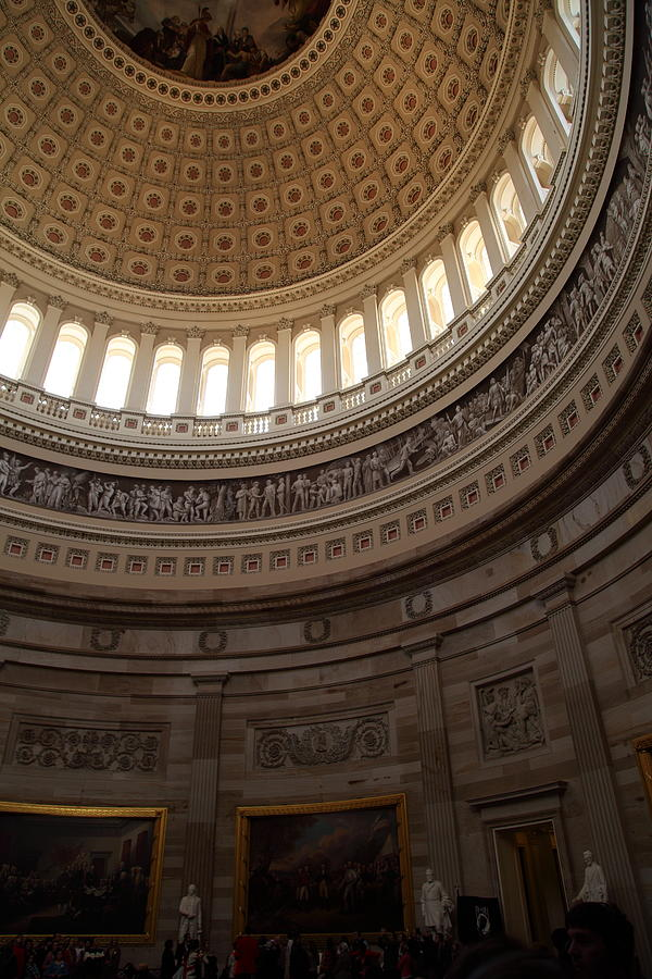 America Photograph - Washington Dc - Us Capitol - 011311 by DC Photographer