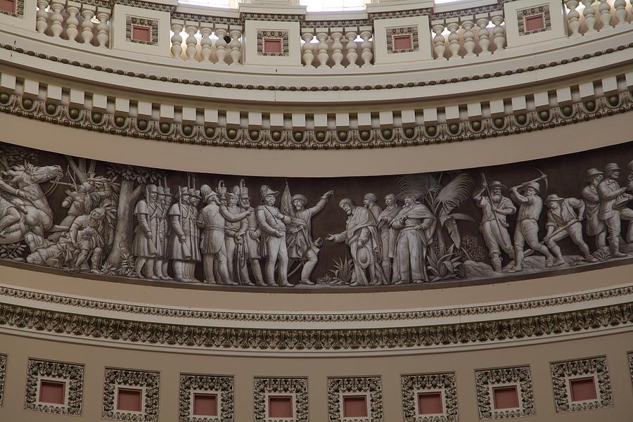 America Photograph - Washington Dc - Us Capitol - 011319 by DC Photographer