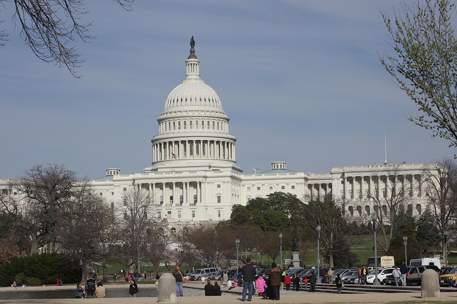 America Photograph - Washington Dc - Us Capitol - 01135 by DC Photographer