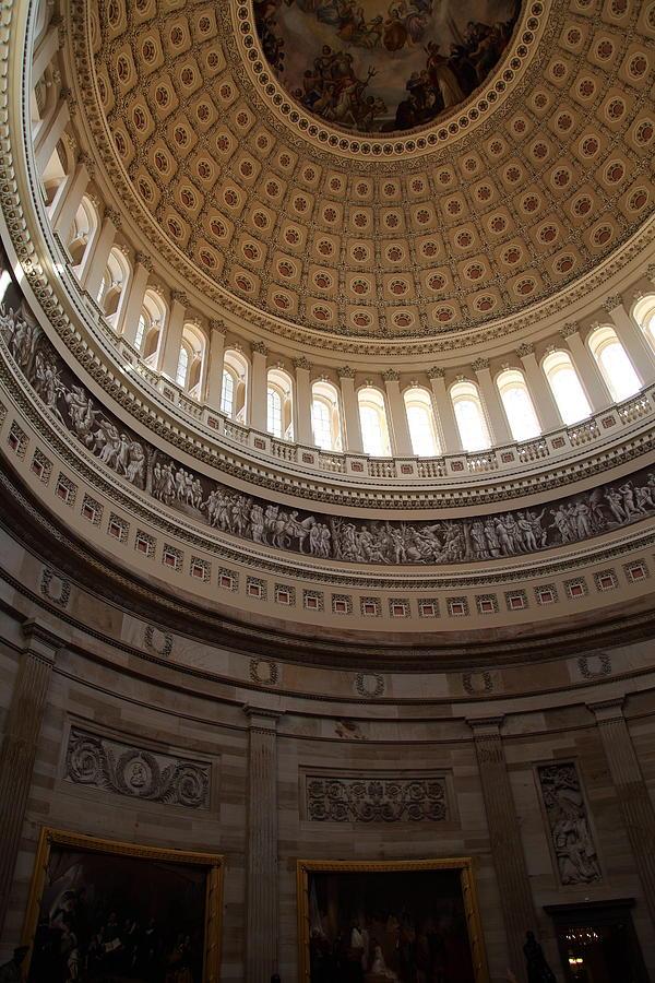 America Photograph - Washington Dc - Us Capitol - 01139 by DC Photographer