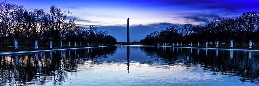 Horizontal Photograph - Washington D.c. - Washington Monument by Panoramic Images