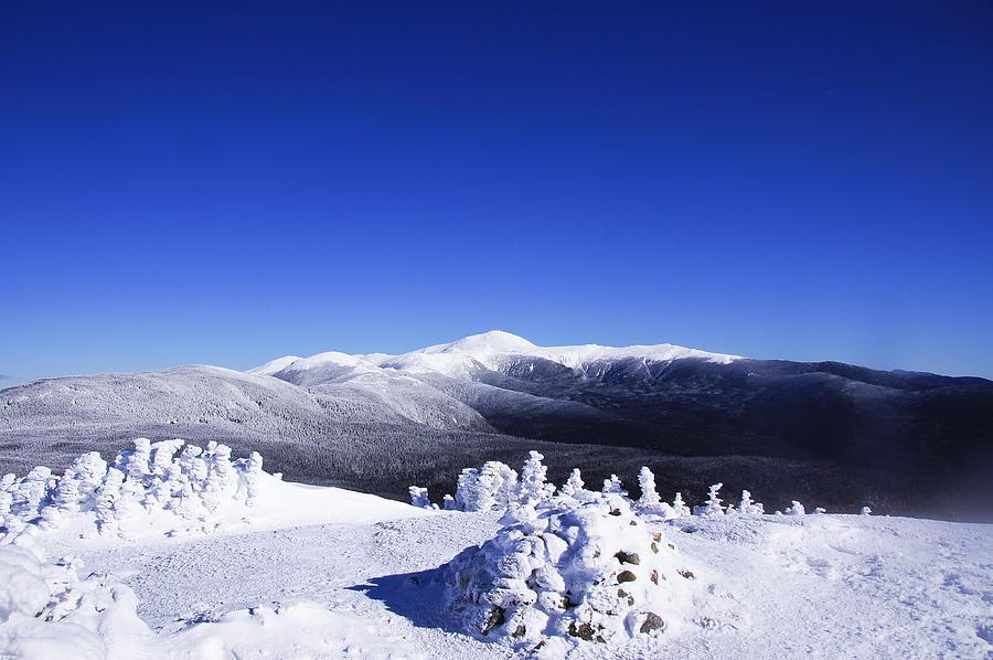 Mt Pierce Photograph - Washington In White by Rockybranch Dreams