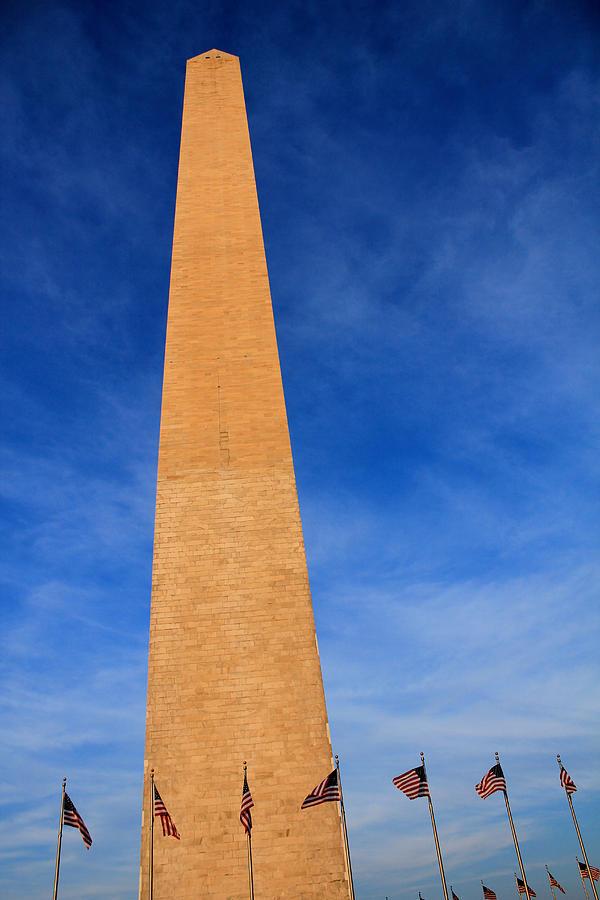 Usa Photograph - Washington Monument by DustyFootPhotography