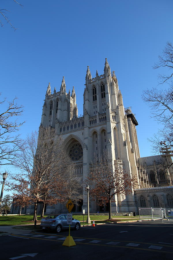 Alter Photograph - Washington National Cathedral - Washington Dc - 0113115 by DC Photographer