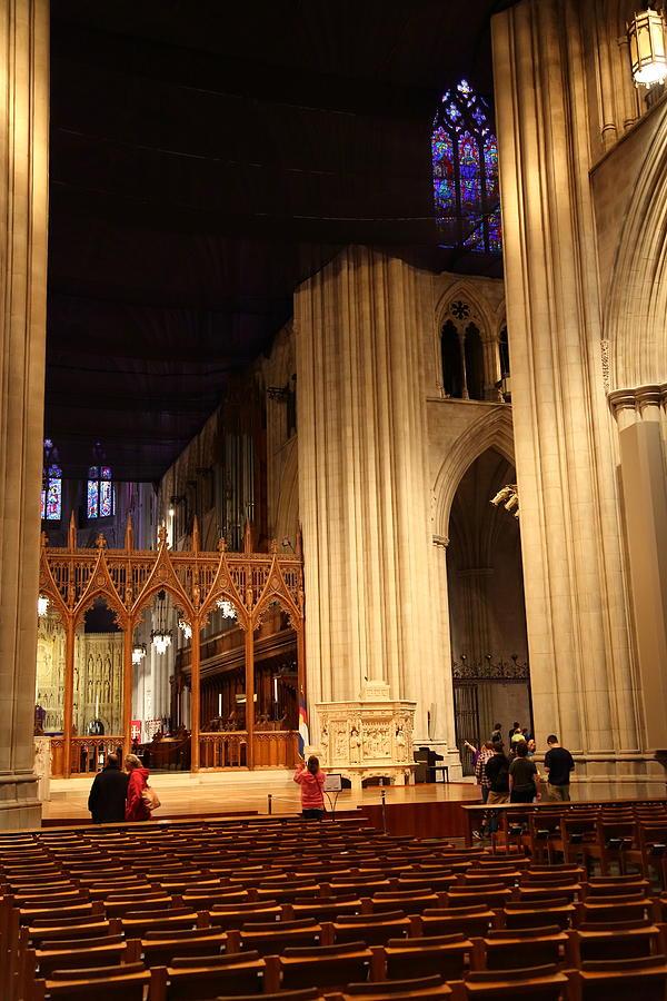 Alter Photograph - Washington National Cathedral - Washington Dc - 011312 by DC Photographer