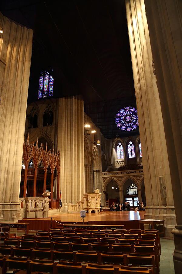 Alter Photograph - Washington National Cathedral - Washington Dc - 011314 by DC Photographer
