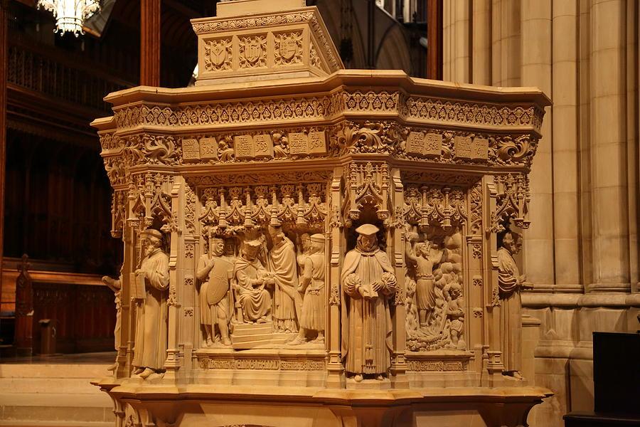 Alter Photograph - Washington National Cathedral - Washington Dc - 011333 by DC Photographer