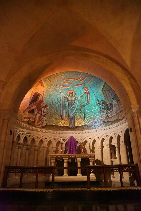 Alter Photograph - Washington National Cathedral - Washington Dc - 011337 by DC Photographer
