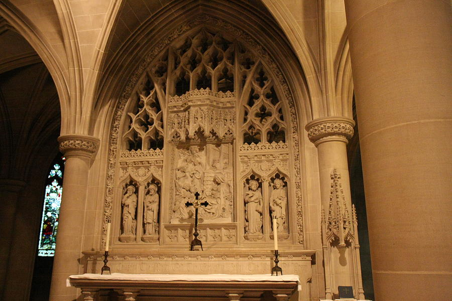 Alter Photograph - Washington National Cathedral - Washington Dc - 011373 by DC Photographer
